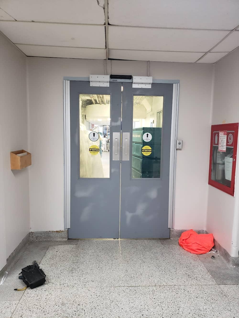 Installation de portes